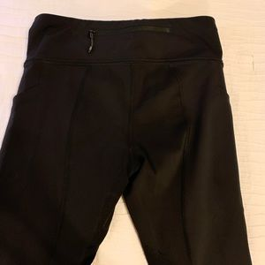 Lululemon pace rival legging, black Sz4 GUC